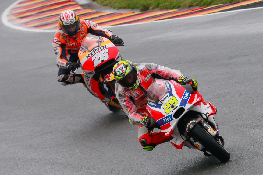 Dani Pedrosa, Andrea Iannone, GoPro Motorrad Grand Prix Deutschland