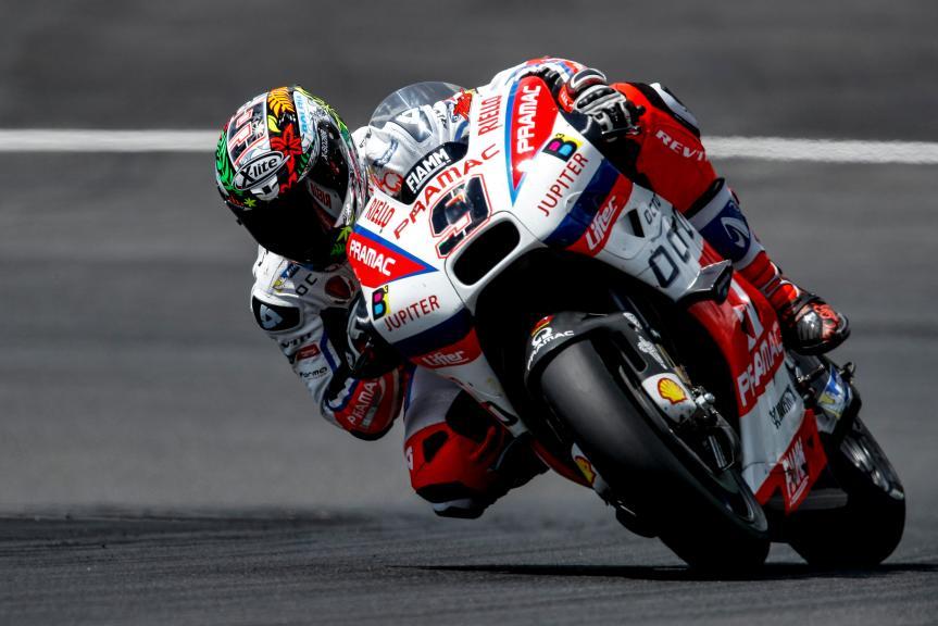 Danilo Petrucci, MotoGP Private Test Austria © Alex Farinelli