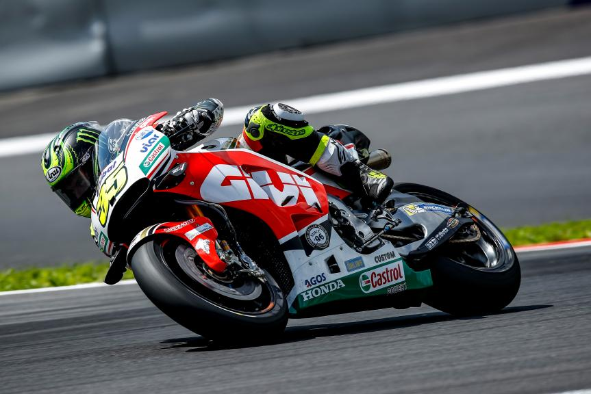 Cal Crutchlow, MotoGP Private Test Austria © Alex Farinelli