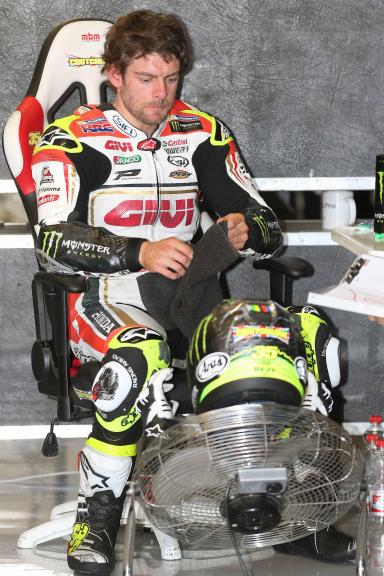 Cal Crutchlow, MotoGP Private Test Austria © Marco Guidetti