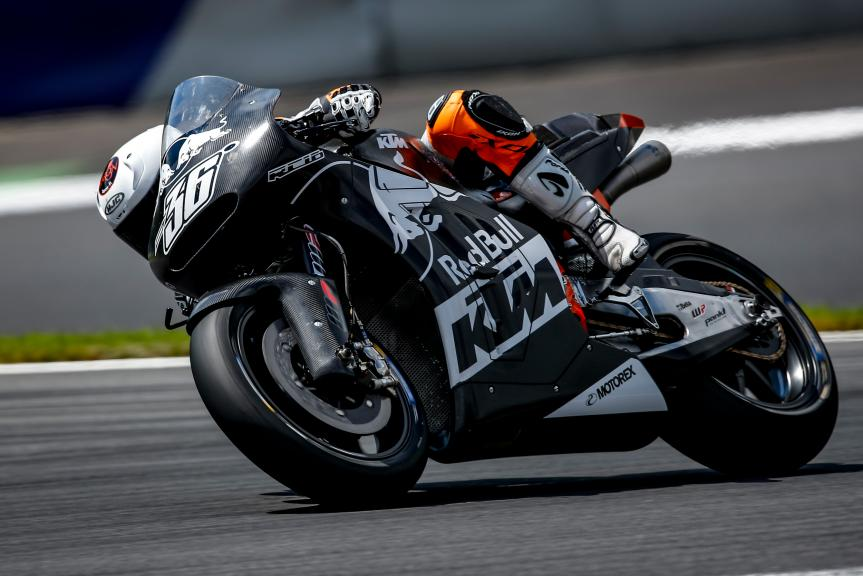 Mika Kallio, MotoGP Private Test Austria © Alex Farinelli
