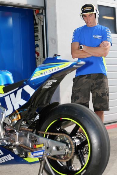 Aleix Espargaro, MotoGP Private Test Austria © Marco Guidetti