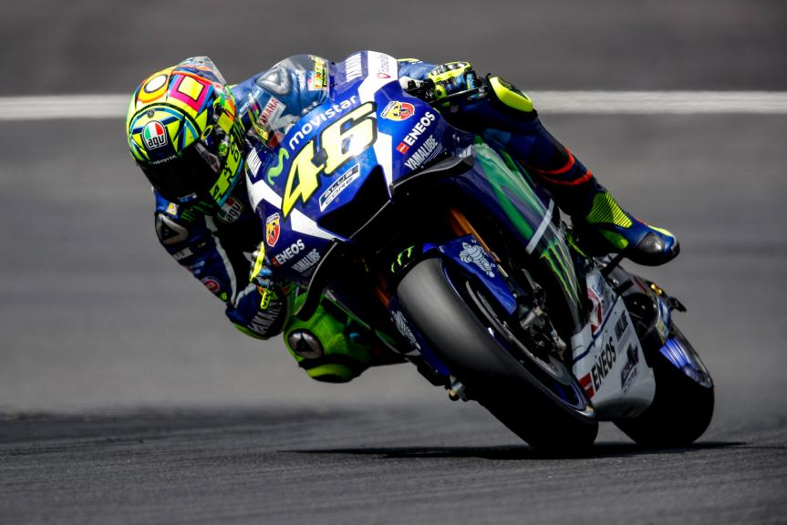 Valentino Rossi, MotoGP Private Test Austria © Alex Farinelli