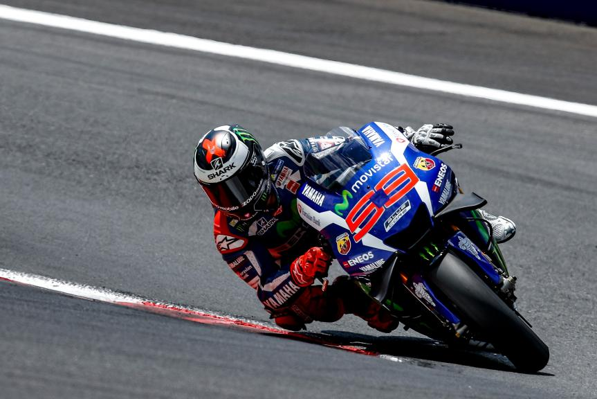 Jorge Lorenzo, MotoGP Private Test Austria © Alex Farinelli