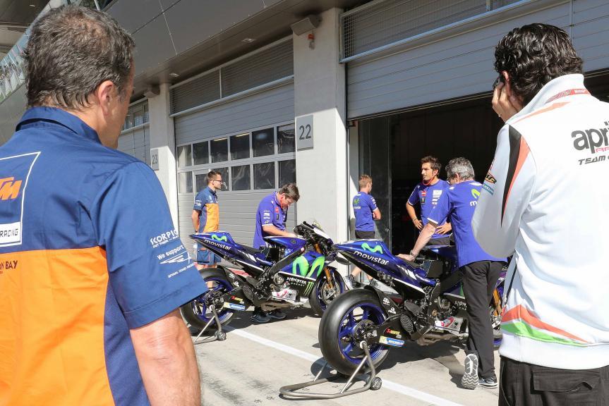 MotoGP Private Test Austria © Marco Guidetti