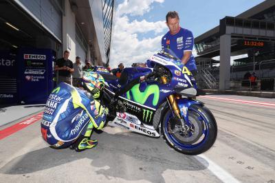 MotoGP™ Piloten absolvieren ersten Österreich-Testtag