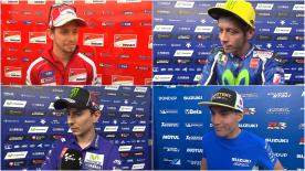 A number of riders give their feedback on the new addition to the MotoGP™ calendar after the first day of a two-day private test in Austria.