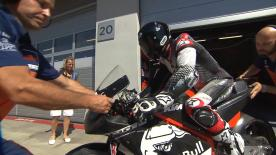 The RC16 had its first outing alongside the MotoGP™ regulars during a private test in Austria, Kallio and Luthi posting competitive times.