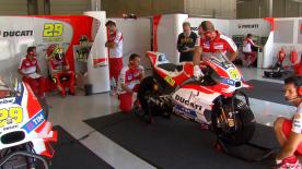 A number of MotoGP™ teams took part in the first day of a private two-day test at the Red Bull Ring on Tuesday.