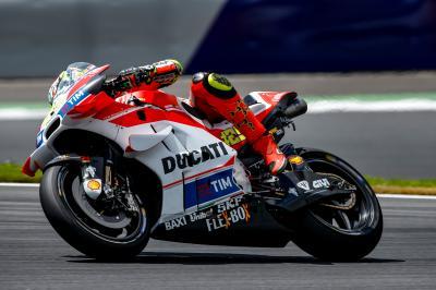 Ducati domina el test privado en Austria