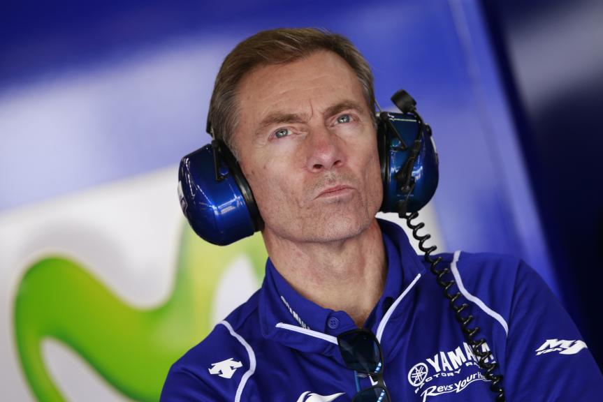 Lin Jarvis, Yamaha Team Manager