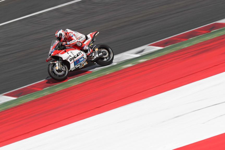 Andrea Dovizioso, MotoGP Private Test Austria © Marco Guidetti