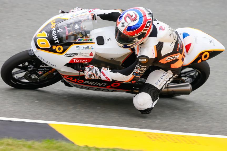 Alexis Masbou, Peugeot MC Saxoprint, GoPro Motorrad Grand Prix Deutschland