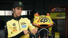 An analysis of the riding style of Moto2™ rider & 2016 Championship contender Alex Rins.