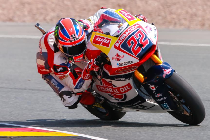 Sam Lowes, Federal Oil Gresini Moto2, GoPro Motorrad Grand Prix Deutschland