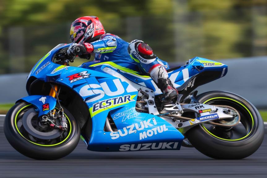 Maverick Viñales, MotoGP Private Test Austria © Marco Guidetti