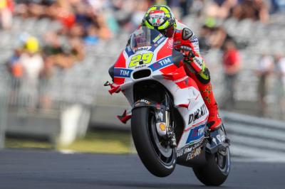 "Iannone: ""We tried the new chassis"""