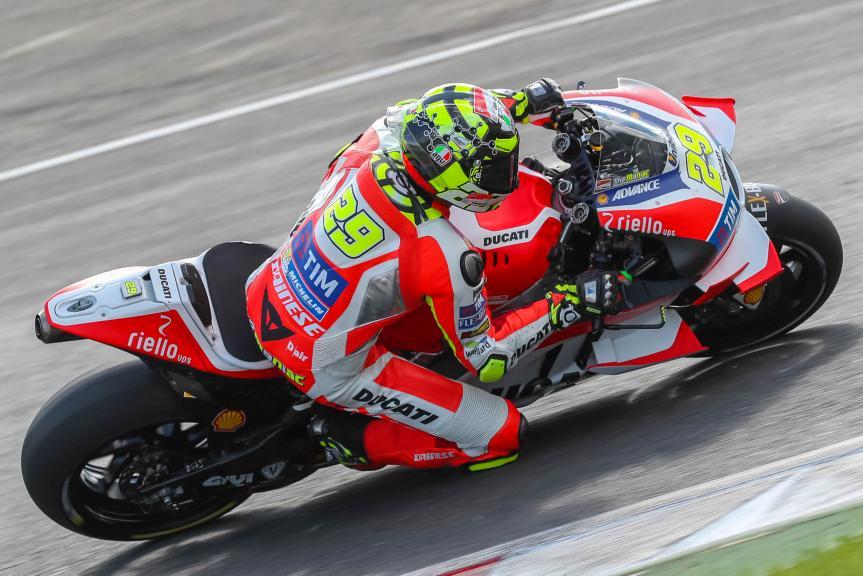 Andrea Iannone, MotoGP Private Test Austria © Marco Guidetti