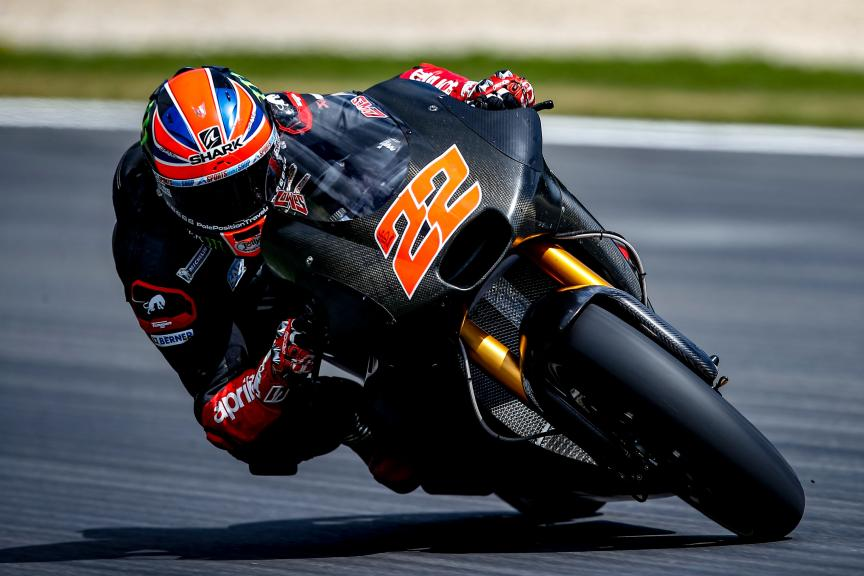 Sam Lowes, MotoGP Private Test Austria