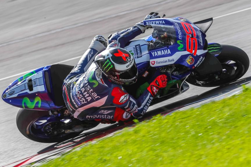 Jorge Lorenzo, MotoGP Private Test Austria © Marco Guidetti