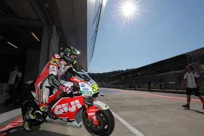 "Crutchlow: ""I was pleasantly surprised with the lap times"""