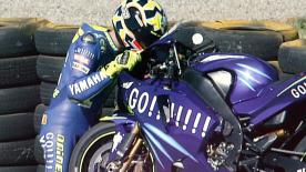 Find out more about the Yamaha YZR-M1 that Valentino Rossi won back-to-back MotoGP™ titles on in 2003 and 2004.