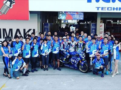 Thanks for all Team F.C.C. TSR Honda and the Japanese