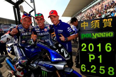 Yamaha holt Back-to-Back-Siege in Suzuka
