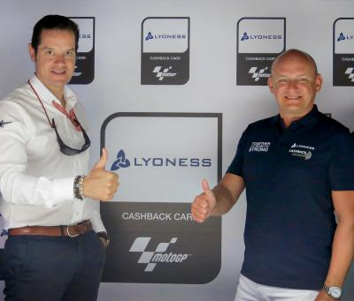 Lyoness is now a new partner of MotoGP™