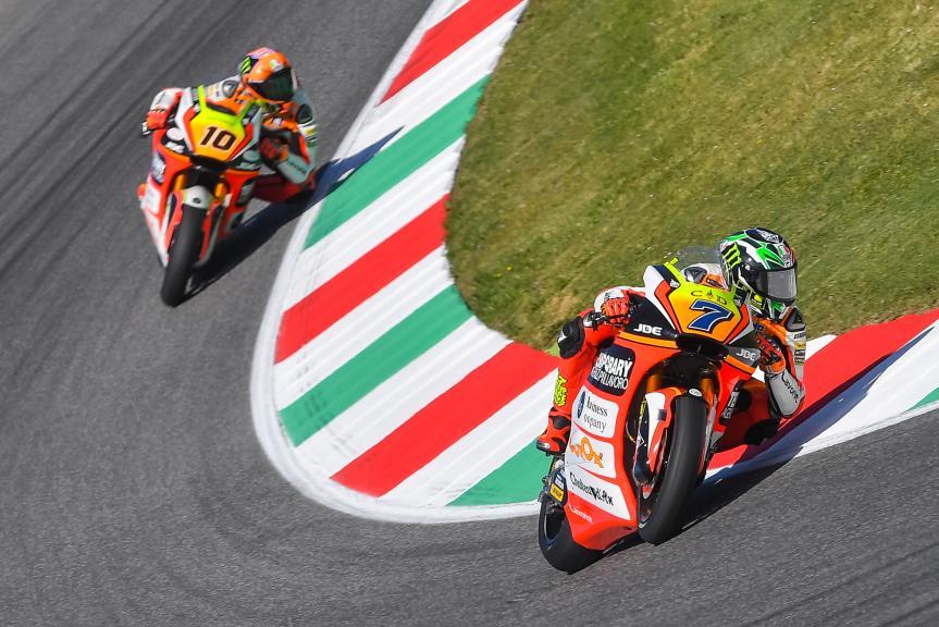 Lorenzo Baldassarri, Luca Marini, Forward Team