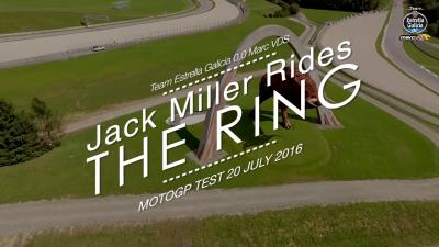 Jack Miller Rides The Ring