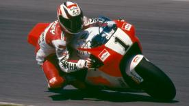 Wayne Rainey's name is synonymous with Michelin after he lifted two of his three 500cc World Championship's while using their tyres.