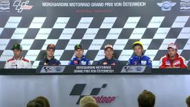 All of the action from the official opening press conference at the #AustrianGP.