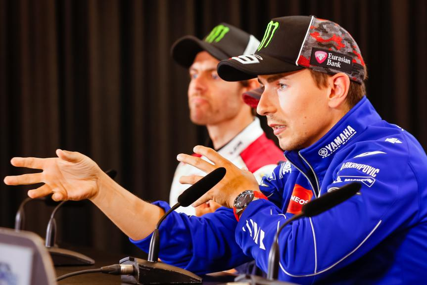 Jorge Lorenzo, Movistar Yamaha MotoGP, NeroGiardini Motorrad Grand Prix von Österreich