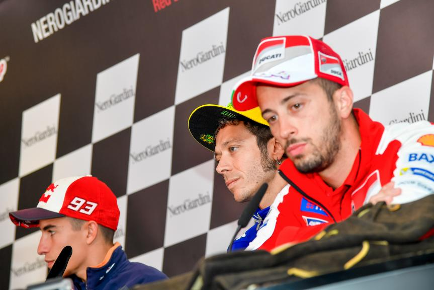 Press conference NeroGiardini Motorrad Grand Prix von Österreich