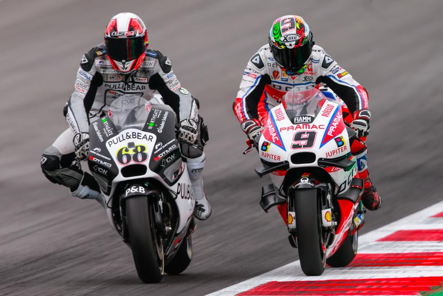 Danilo Petrucci, Yonny Hernandez, NeroGiardini Motorrad Grand Prix von Österreich