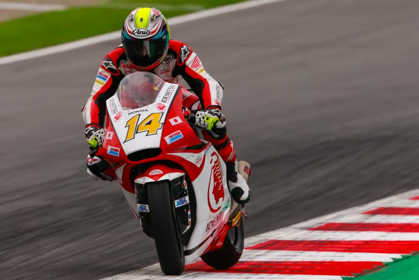 Ratthapark Wilairot, IDEMITSU Honda Team Asia, NeroGiardini Motorrad Grand Prix von Österreich