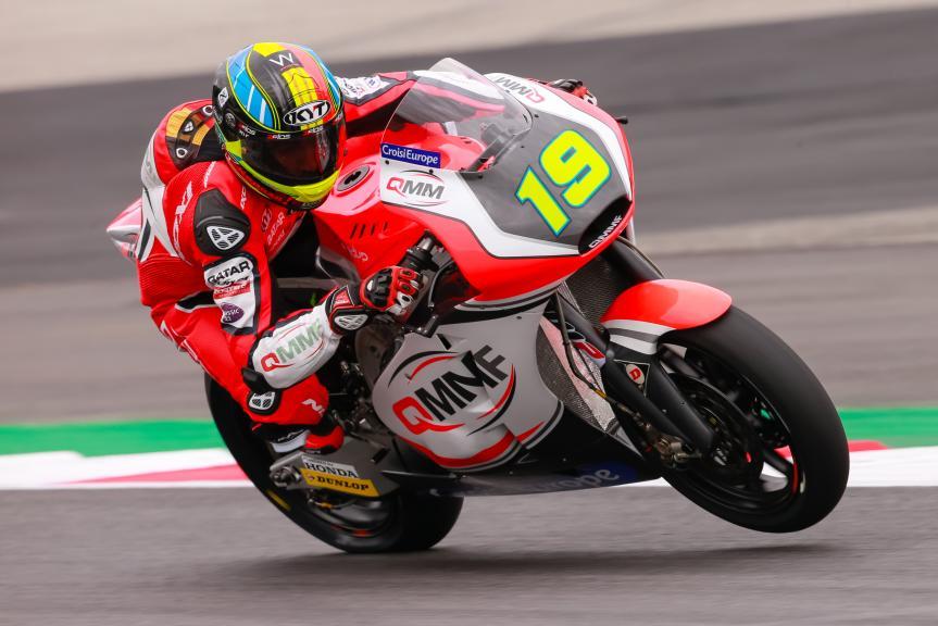 Xavier Simeon, QMMF Racing Team, NeroGiardini Motorrad Grand Prix von Österreich