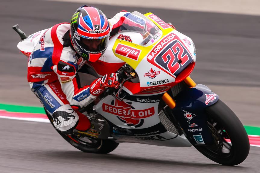 Sam Lowes, Federal Oil Gresini Moto2, NeroGiardini Motorrad Grand Prix von Österreich