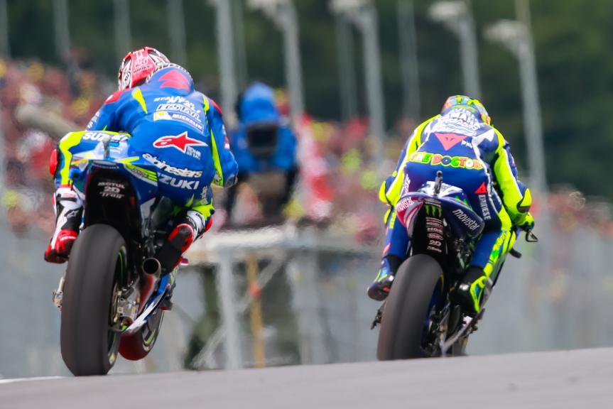 Maverick Viñales, Valentino Rossi, NeroGiardini Motorrad Grand Prix von Österreich