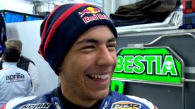 The Gresini Racing Moto3 rider was really satisfied with the track.