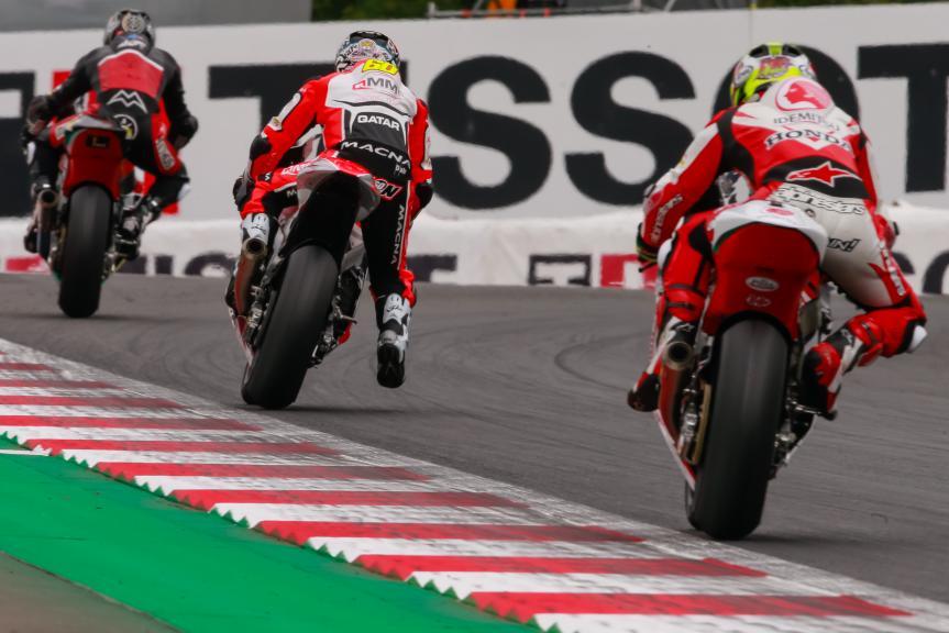 Julian Simon, QMMF Racing Team, NeroGiardini Motorrad Grand Prix von Österreich