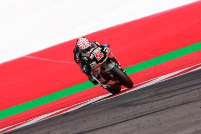 #AustrianGP Moto2™ race guide: Saturday's fastest in stats