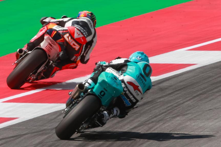 Luca Marini, Miguel Oliveira, NeroGiardini Motorrad Grand Prix von Österreich