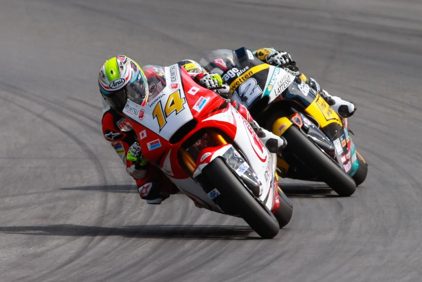 Ratthapark Wilairot, Thomas Luthi, NeroGiardini Motorrad Grand Prix von Österreich