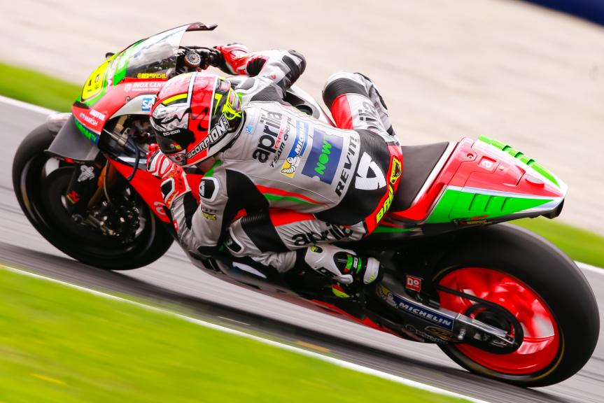 Alvaro Bautista, Aprilia Racing Team Gresini, NeroGiardini Motorrad Grand Prix von Österreich