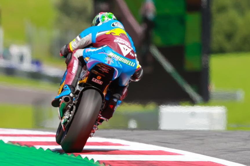 Franco Morbidelli, Estrella Galicia 0,0 Marc VDS, NeroGiardini Motorrad Grand Prix von Österreich