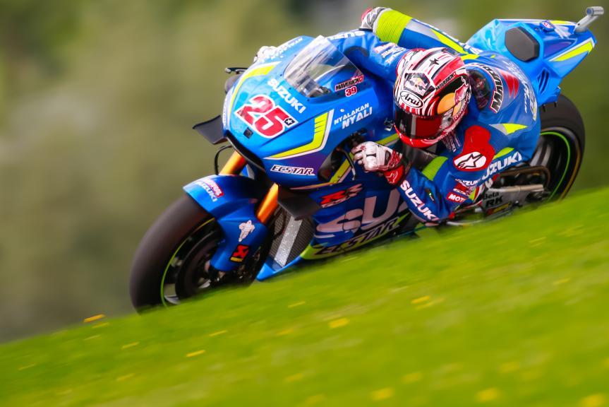 Maverick Viñales, Team SUZUKI ECSTAR, NeroGiardini Motorrad Grand Prix von Österreich