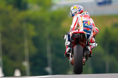 Pedrosa two seconds faster on Saturday