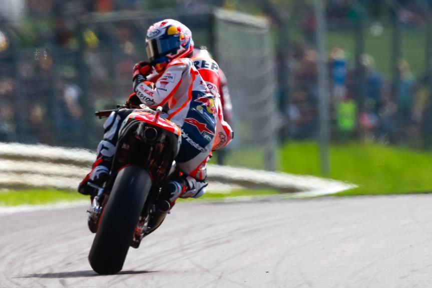 Dani Pedrosa, Repsol Honda Team, NeroGiardini Motorrad Grand Prix von Österreich